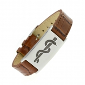 Leather Strap ID - LS01